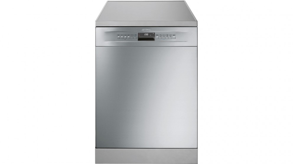 Smeg 15 Place Freestanding Dishwasher with Orbital Wash Technology - Stainless Steel
