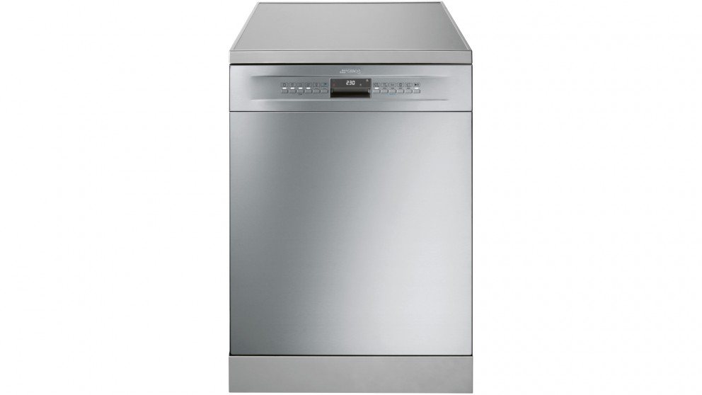 Smeg 60cm 15 Place Setting Freestanding Dishwasher - Stainless Steel