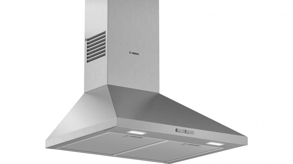 Bosch Series 2 600mm Wall-Mounted Stainless Steel Canopy Rangehood