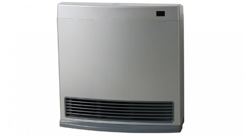 Rinnai Dynamo 15 Unflued Natural Gas Convector Heater - Platinum Silver