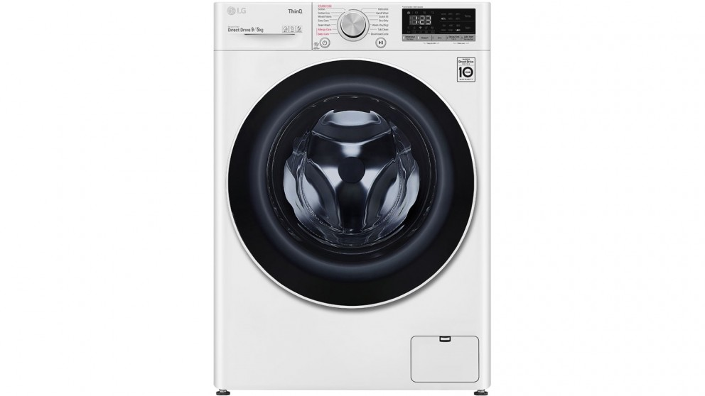 LG 9kg/5kg Front Load Washer and Dryer Combo