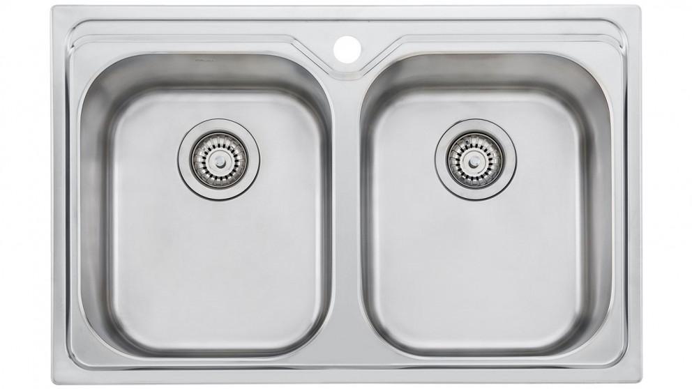 Oliveri Diaz Double Bowl Universal Sink - Sinks - Sinks & Taps ...