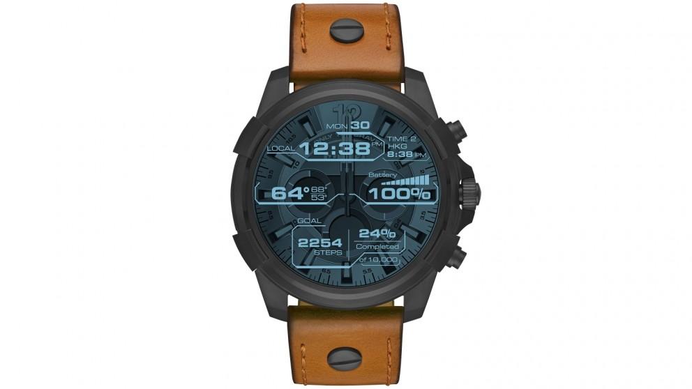 Diesel On Full Guard Touchscreen Smart Watch - Black/Tan