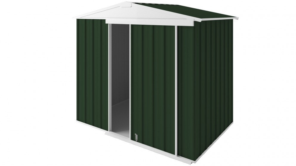 EasyShed Gable Slider Roof Garden Shed - Caulfield Green