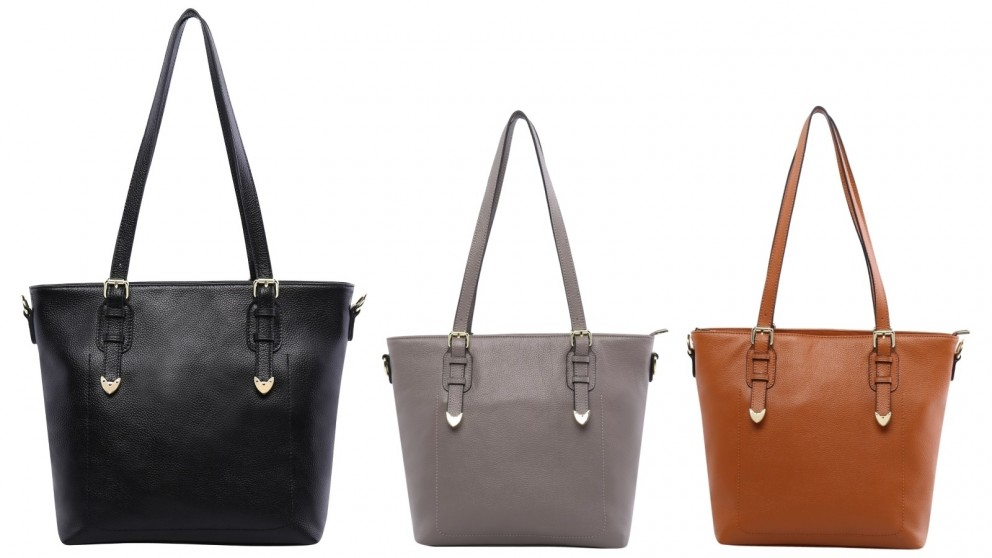 d37e935ca155 Serenade Charlie Leather Tote Bag
