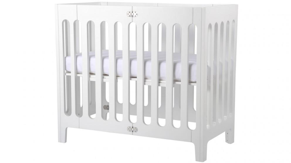 Bloom Alma Mini Urban Crib -  Coconut White