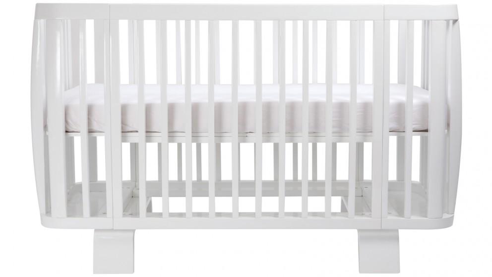 Bloom Retro Crib   Coconut White