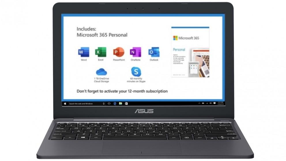 Asus E12 11.6-inch Celeron-N3350/4GB/64GB eMMC Laptop