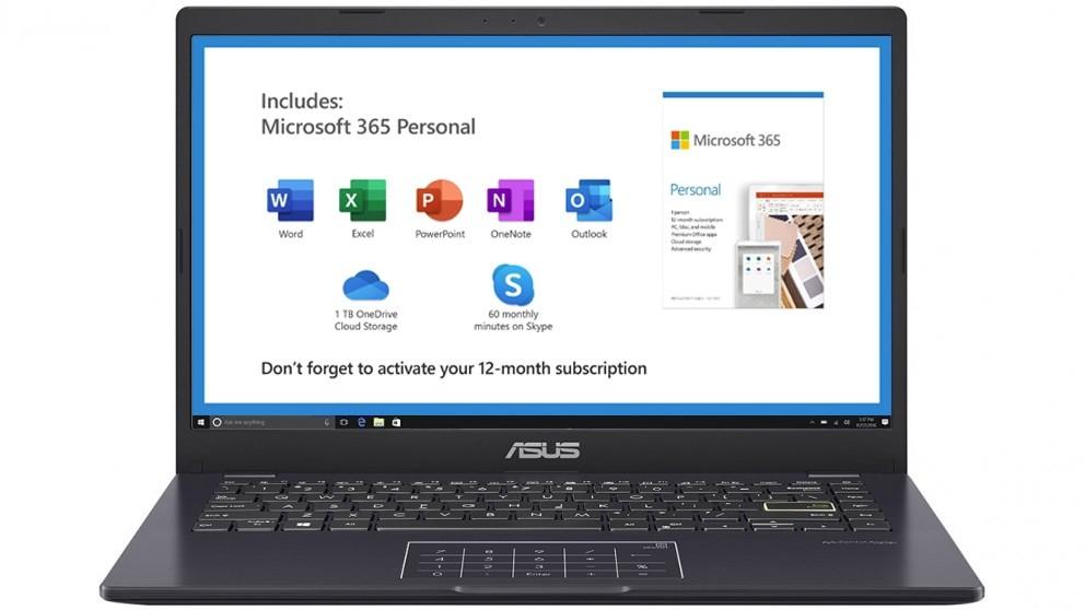Asus 14-inch Celeron-N4020/4GB/64GB eMMC Laptop - Peacock Blue