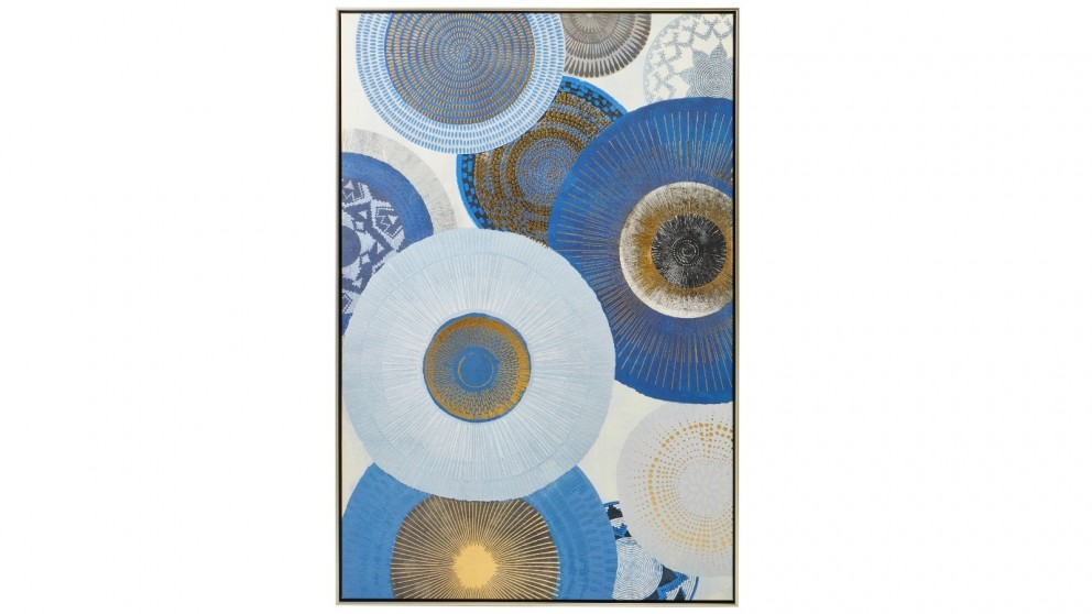 Cooper & Co.120 x 80cm Afternoon Abstract Canvas Wall Art