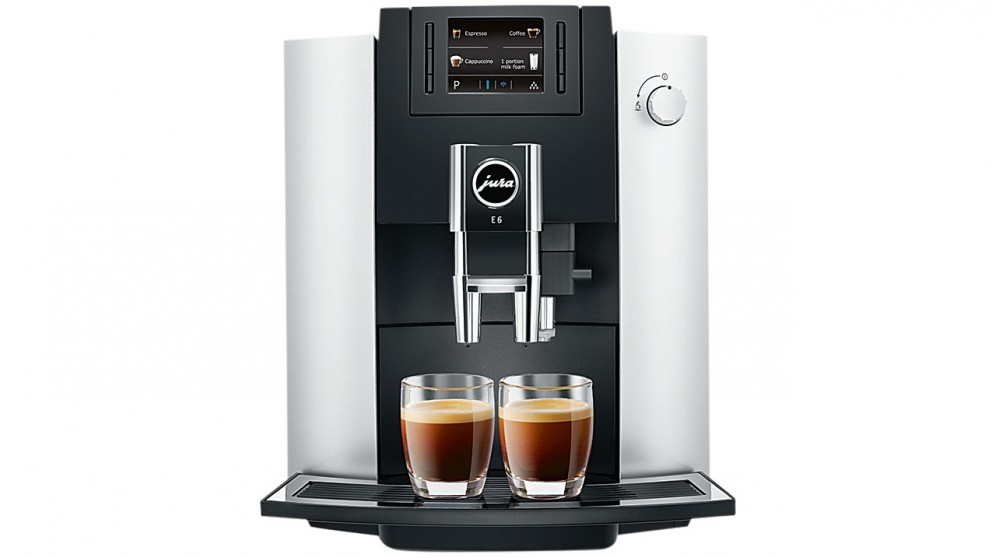 Jura E6 Platinum Auto Coffee Machine