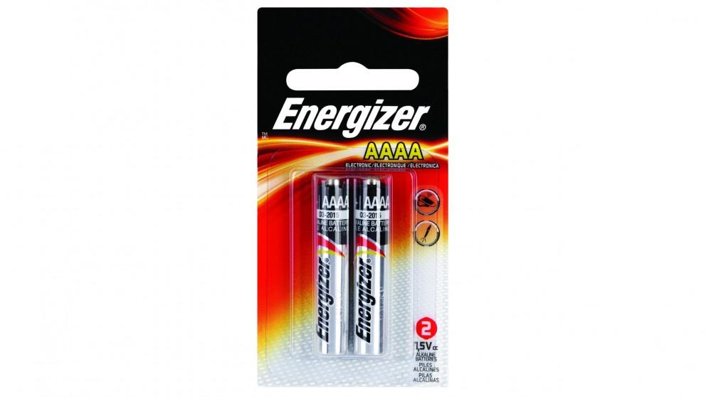 Energizer 2 Pack Alkaline AAAA Batteries
