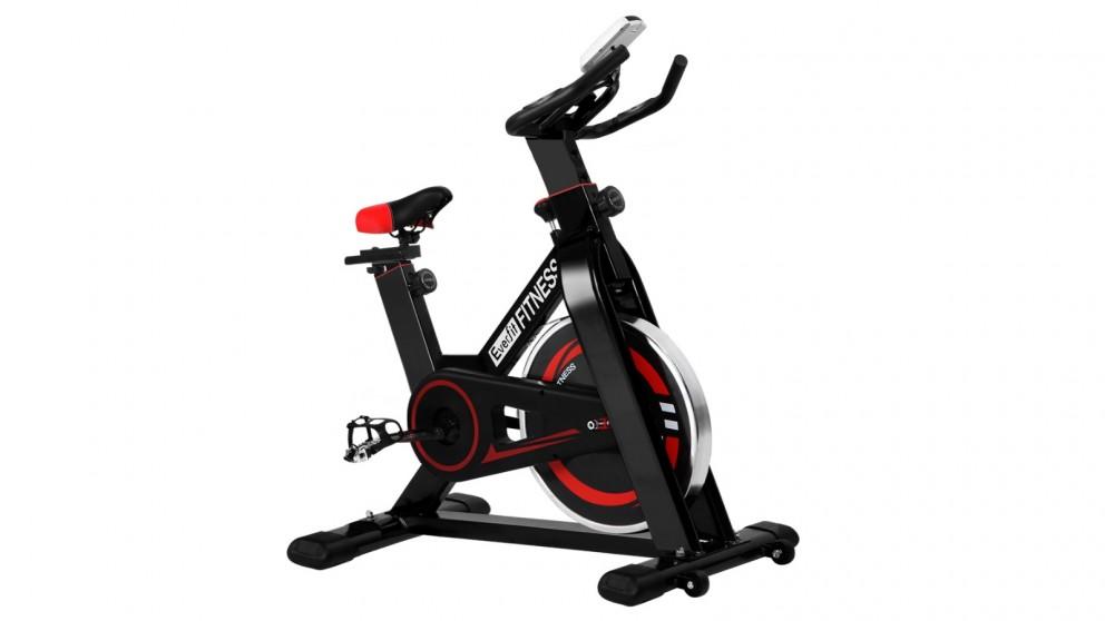 Everfit Exercise 8kg Spin Bike - Black
