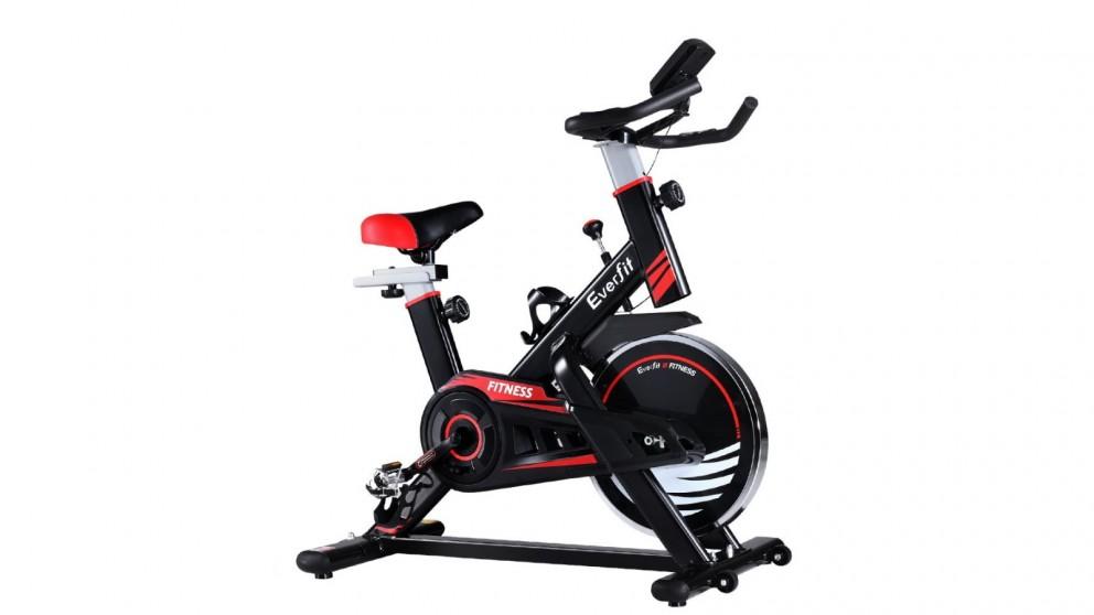 Everfit Spin Exercise Bike - Black