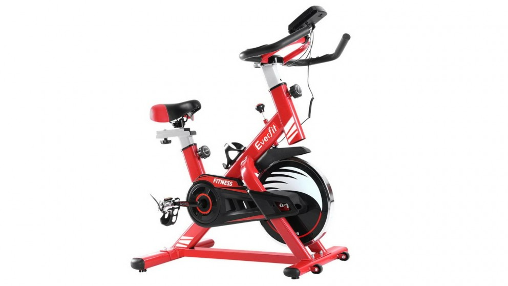 Everfit Spin Exercise Bike Sport - Red
