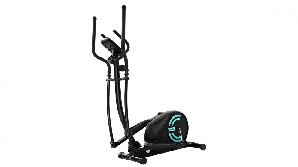 Everfit Exercise Bike Elliptical Cross Trainer 03 - Black
