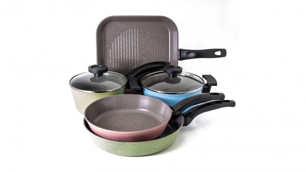 Neoflam Luke Hines Set of 5 Pans with Bonus Pan Protector