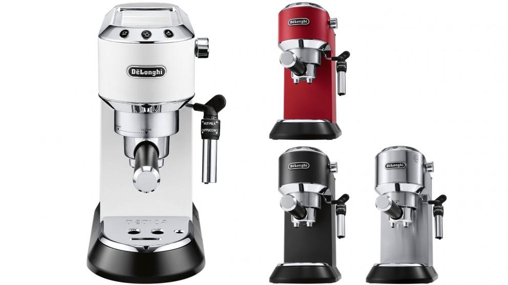 Buy delonghi dedica pump espresso maker harvey norman au for Stufa catalitica de longhi