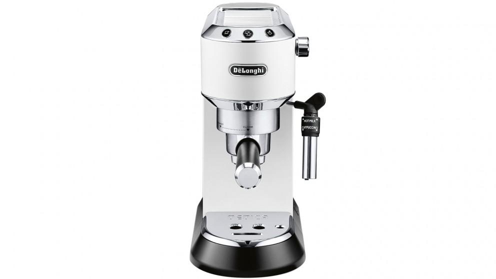 DeLonghi Dedica Pump Espresso Maker - White