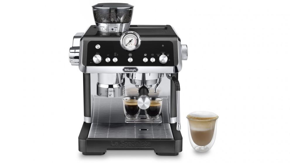 DeLonghi La Specialista Prestigio Manual Coffee Machine - Matte Black