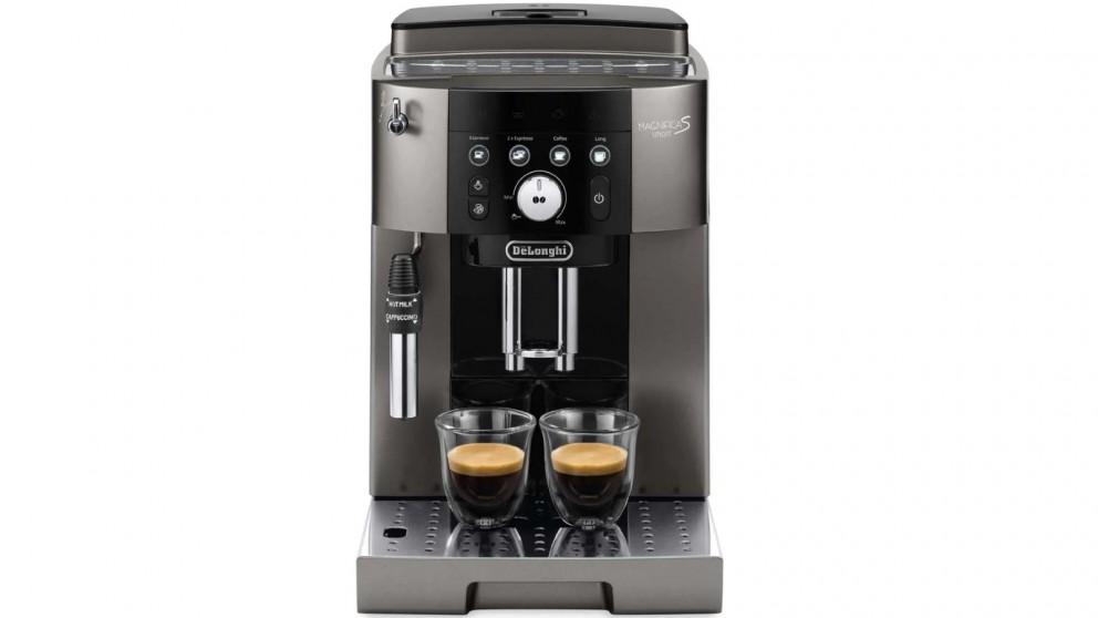DeLonghi Magnifica S Smart Fully Automatic Coffee Machine - Titanium