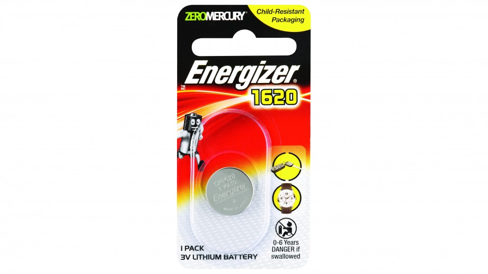 Energizer Lithium Coin 1620 Batteries