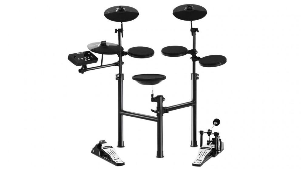 8 Piece Electronic Drum Kit Set