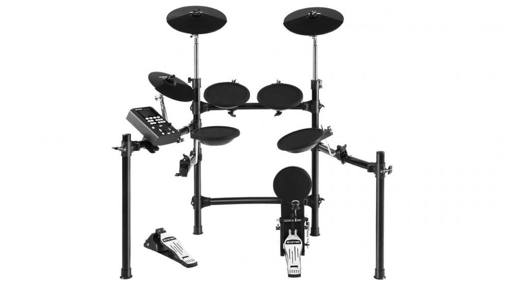 8 Piece Electronic Drum Kit Set For Kids Adult