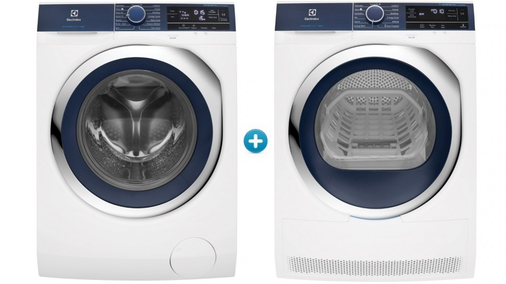 Buy Electrolux 9kg Front Load Washing Machine with 9kg ...