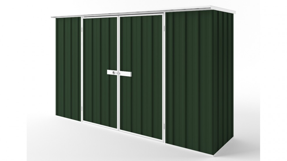 EasyShed D3008 Flat Roof Garden Shed - Caulfield Green