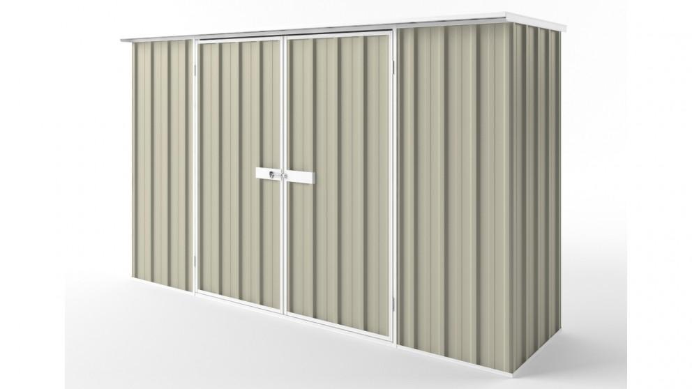 EasyShed D3008 Flat Roof Garden Shed - Merino