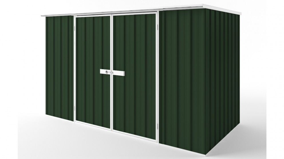 EasyShed D3015 Flat Roof Garden Shed - Caulfield Green