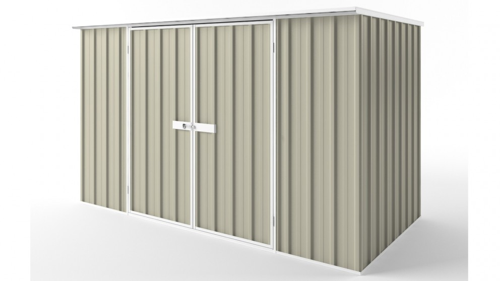 EasyShed D3015 Flat Roof Garden Shed - Merino