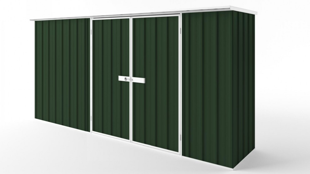 EasyShed D3808 Flat Roof Garden Shed - Caulfield Green