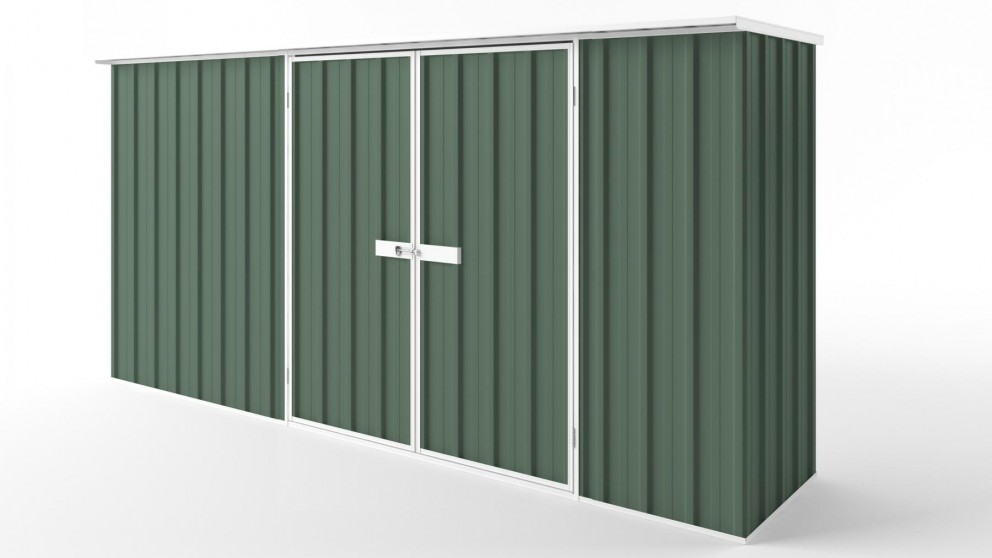 EasyShed D3808 Flat Roof Garden Shed - Rivergum