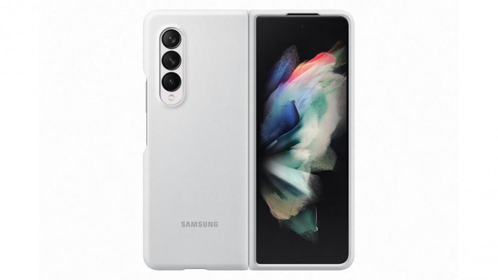 Samsung Galaxy Z Fold3 5G Silicone Cover - White