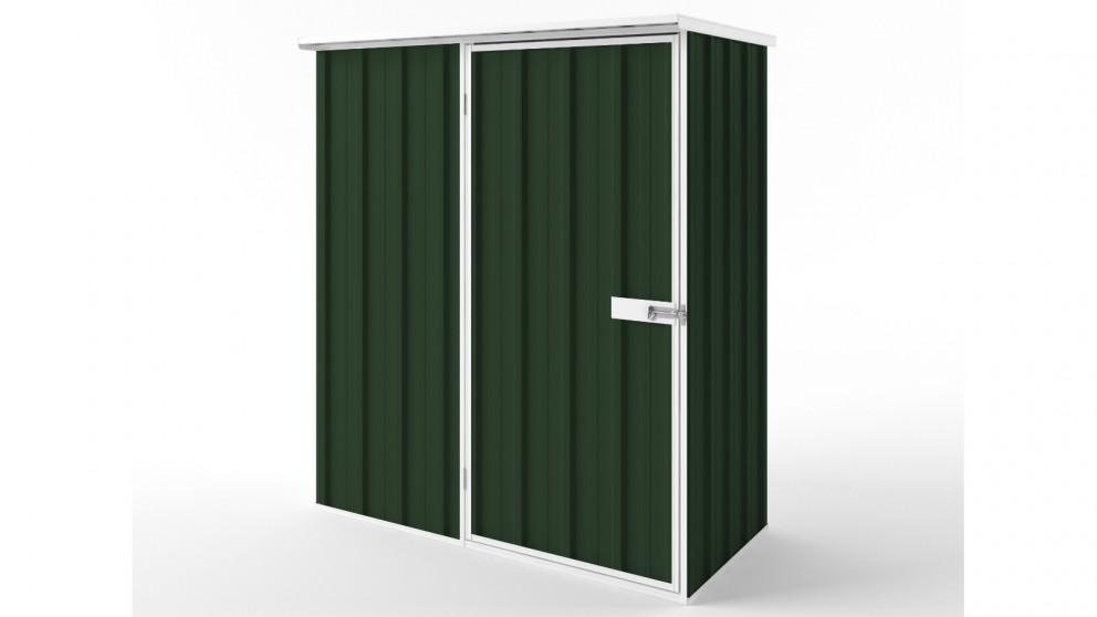 EasyShed S1508 Flat Roof Garden Shed - Caulfield Green