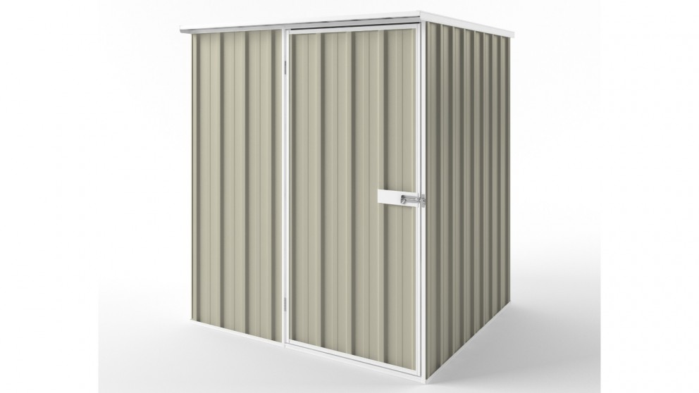EasyShed S1515 Flat Roof Garden Shed - Merino