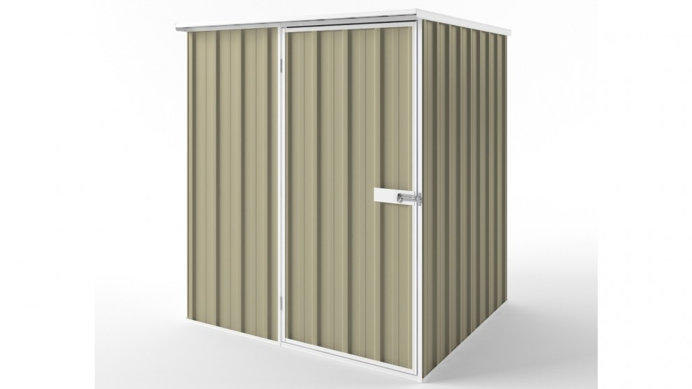 EasyShed S1515 Flat Roof Garden Shed - Wheat