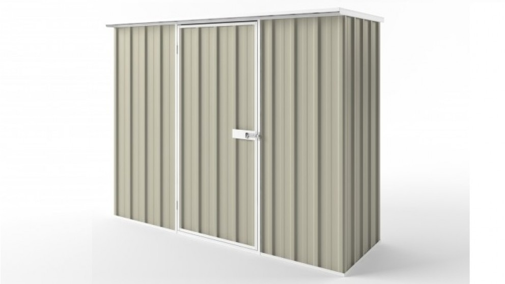 EasyShed S2308 Flat Roof Garden Shed - Merino