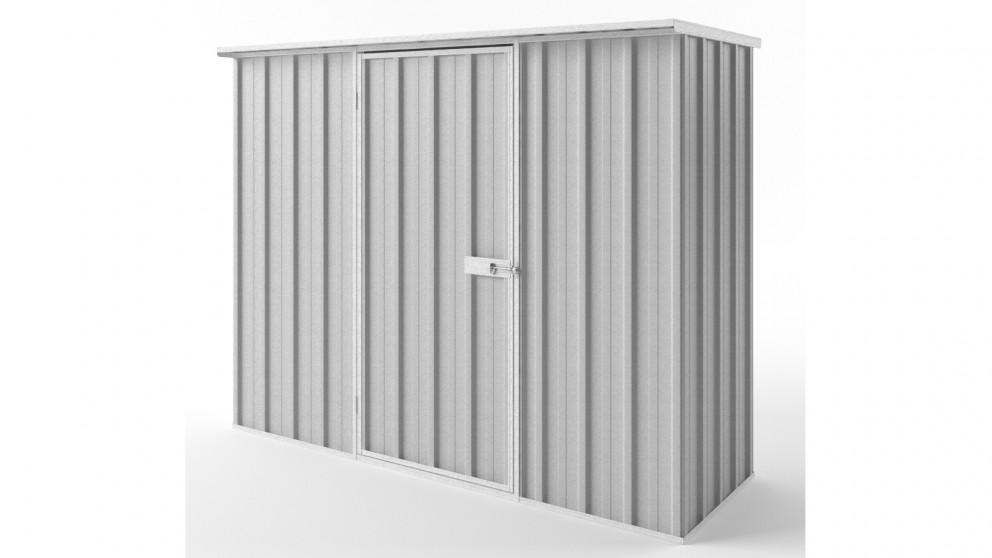 EasyShed S2308 Flat Roof Garden Shed - Zincalume