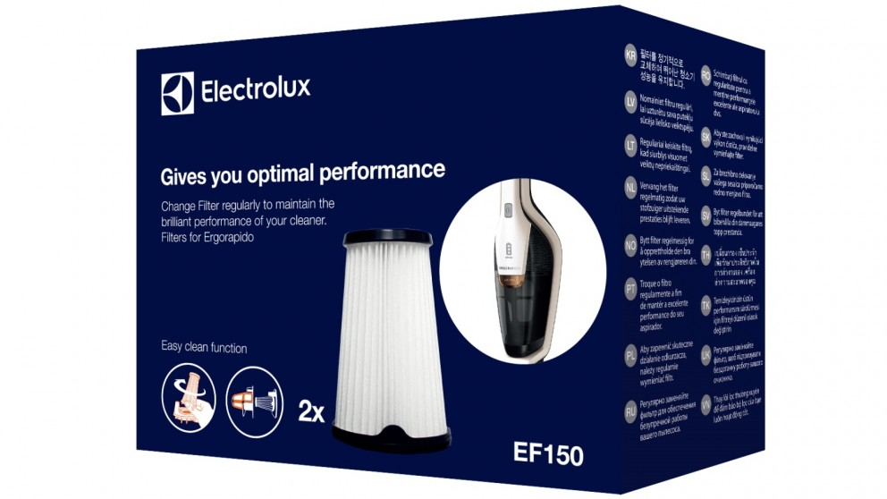 Electrolux Filter Kit for Ergorapido
