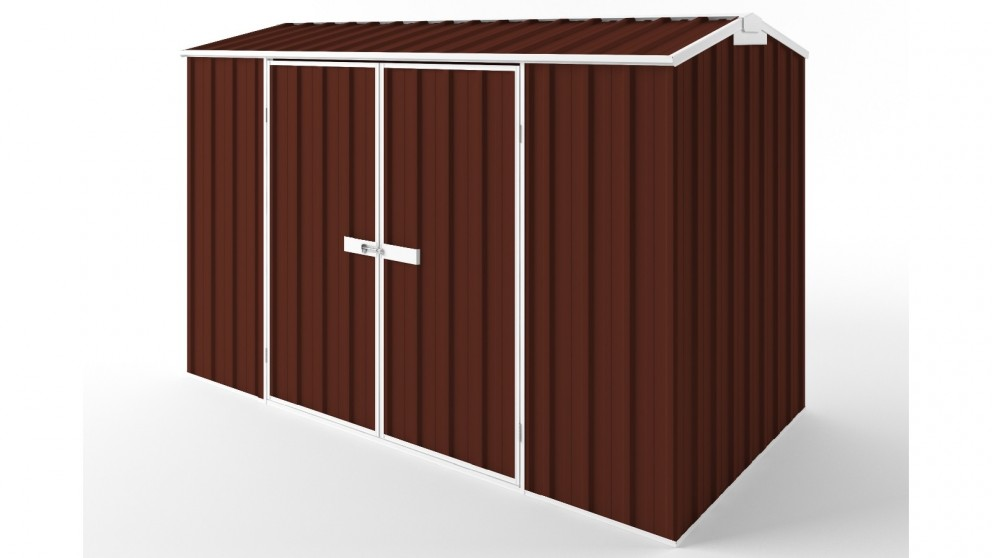 EasyShed D3015 Gable Roof Garden Shed - Heritage Red