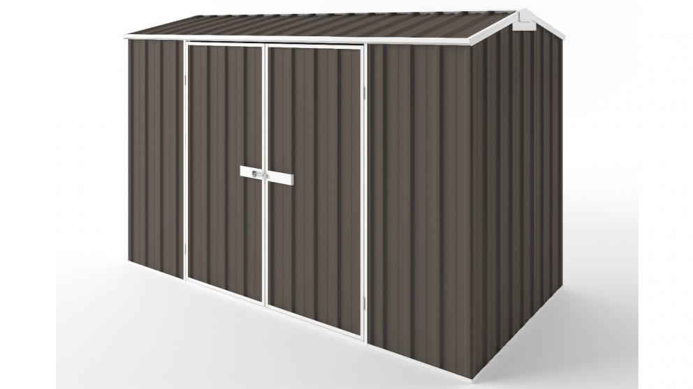 EasyShed D3015 Gable Roof Garden Shed - Jasmine Brown