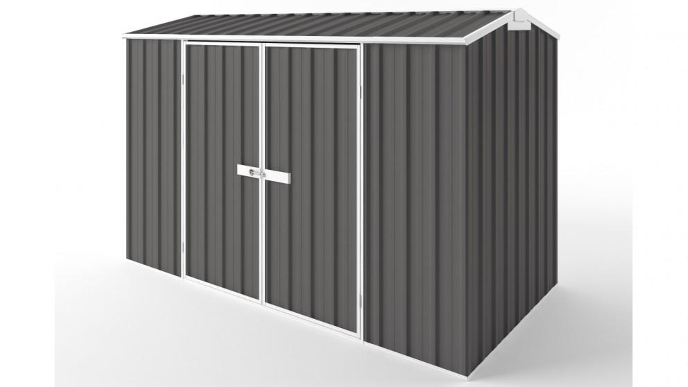 EasyShed D3015 Gable Roof Garden Shed - Slate Grey