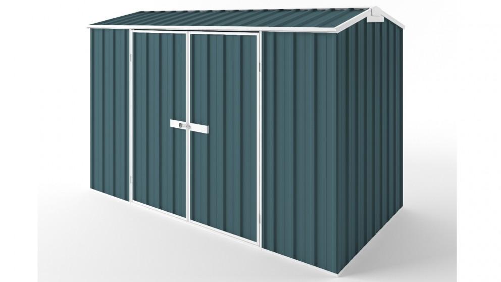 EasyShed D3015 Gable Roof Garden Shed - Torres Blue