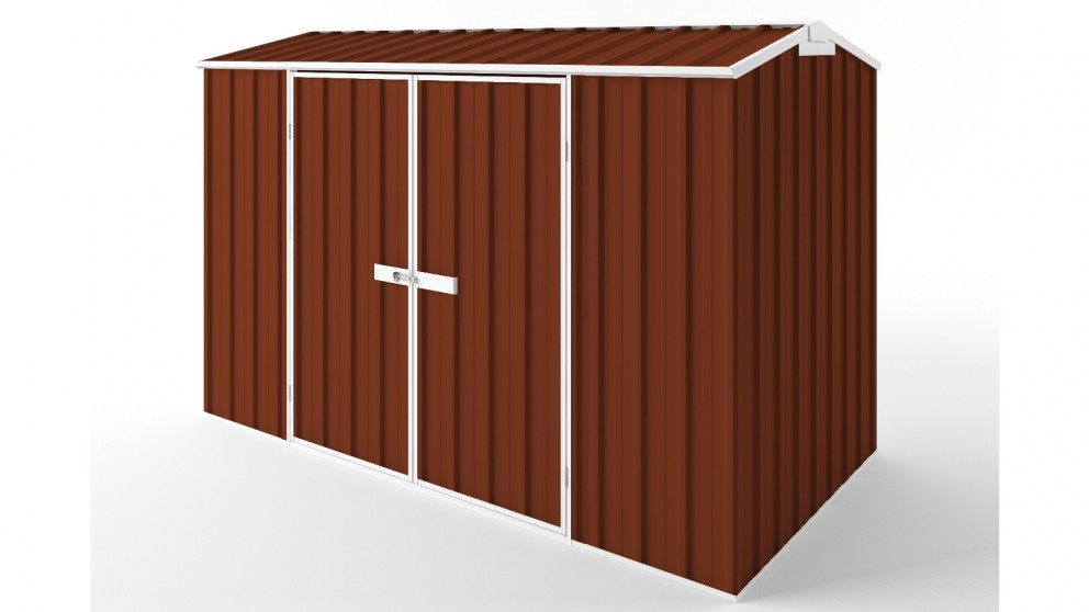 EasyShed D3015 Gable Roof Garden Shed - Tuscan Red