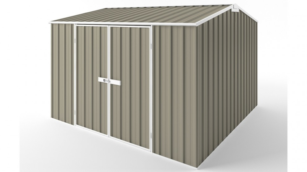 EasyShed D3030 Gable Roof Garden Shed - Stone