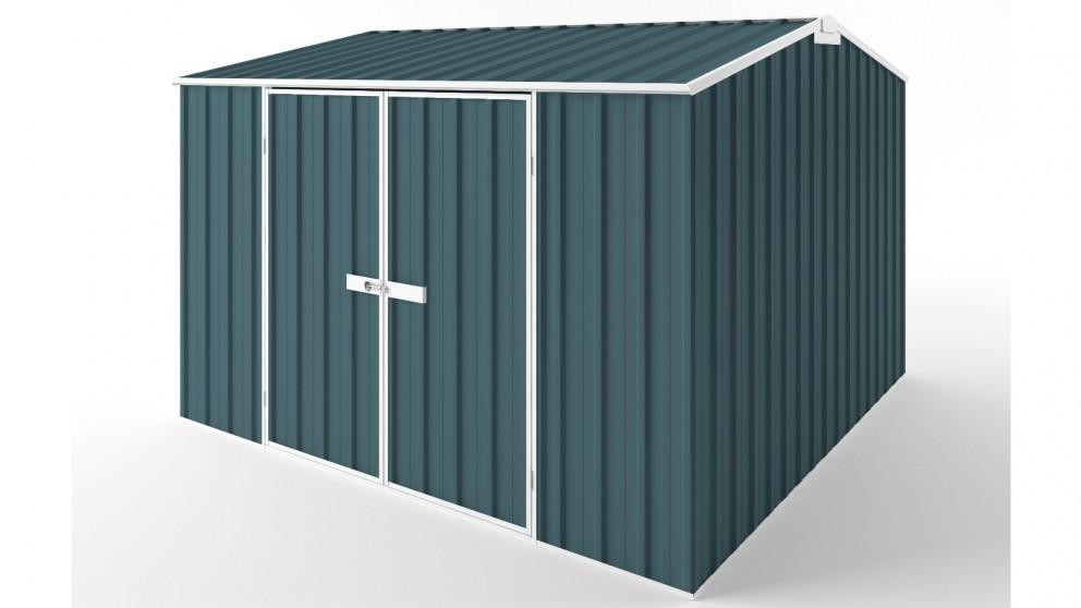 EasyShed D3030 Gable Roof Garden Shed - Torres Blue