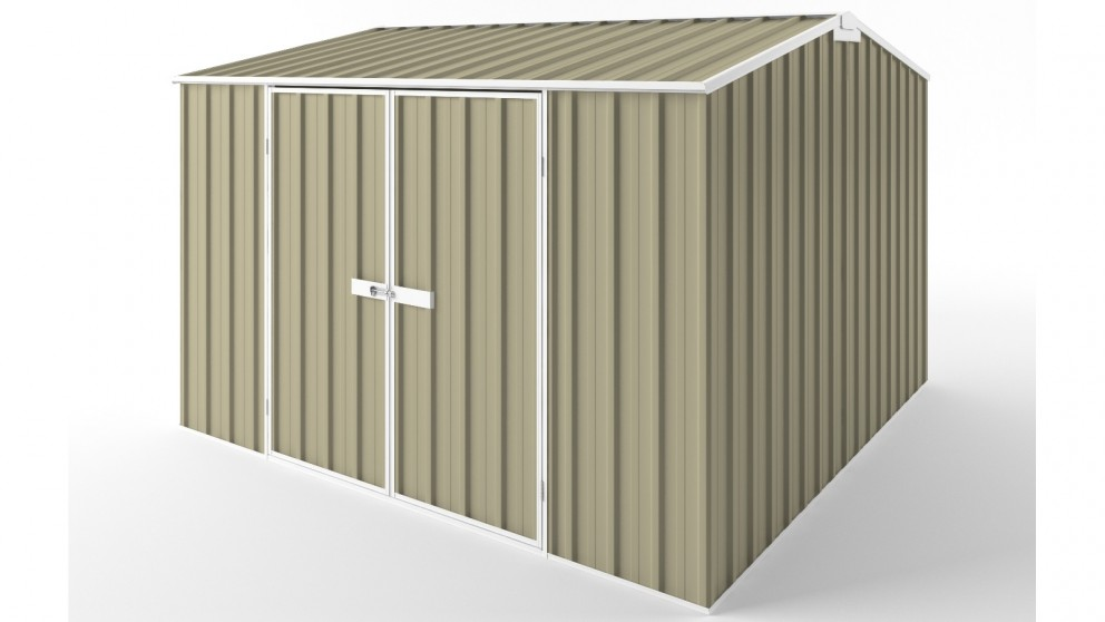 EasyShed D3030 Gable Roof Garden Shed - Wheat